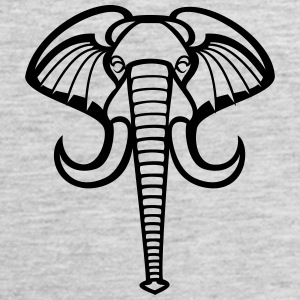 Elephant Tank Tops - Men's Premium Tank