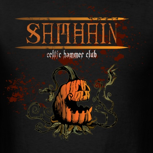 samhain creepy pumpkin