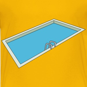 Swimming pool - Kids' Premium T-Shirt