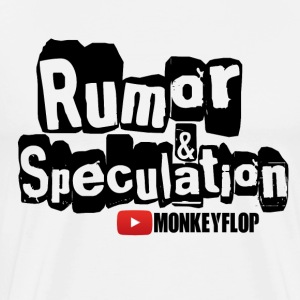 Rumor & Speculation MonkeyFlop - Men's Premium T-Shirt