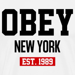 Obey New York - Men's Premium T-Shirt