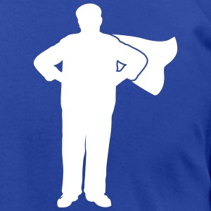 grandpa superhero T-Shirts - Men's T-Shirt by American Apparel