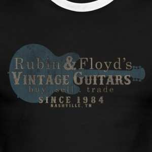 vintage guitars nashville T-Shirts - Men's Ringer T-Shirt