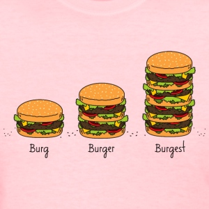 Burger explained - Women's T-Shirt