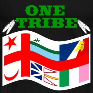 WE ARE ONE TRIBE ONE PROUD PEOPLE  - Men's Premium T-Shirt