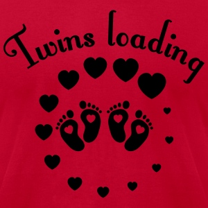Twins loading T-Shirts - Men's T-Shirt by American Apparel