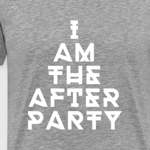 Techno the after party T-Shirts - Men's Premium T-Shirt