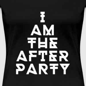 Techno the after party Women's T-Shirts - Women's Premium T-Shirt