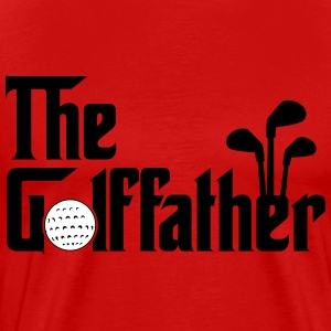 The Golffather - Golf T-Shirts - Men's Premium T-Shirt