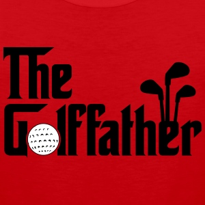 The Golffather - Golf Tank Tops - Men's Premium Tank