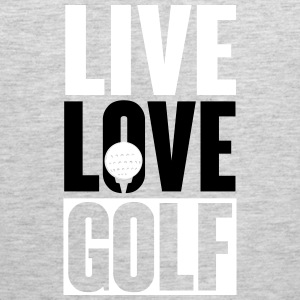 Live Love Golf Tank Tops - Men's Premium Tank