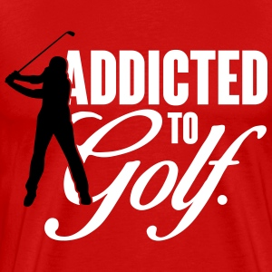 Addicted to Golf T-Shirts - Men's Premium T-Shirt