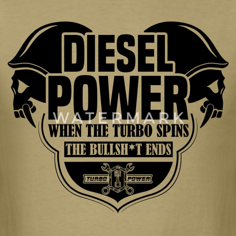 Diesel Power T-Shirts - Men's T-Shirt