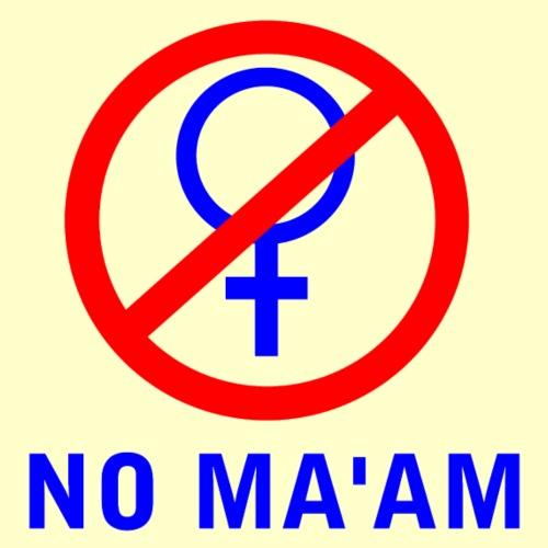 No Ma'am Membership Front