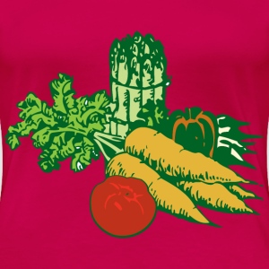 vegetables - Women's Premium T-Shirt