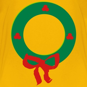 Christmas Wreath - Kids' Premium T-Shirt