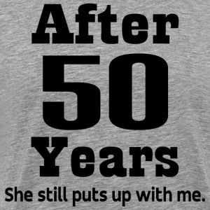 Funny 50th Anniversary T-Shirts - Men's Premium T-Shirt