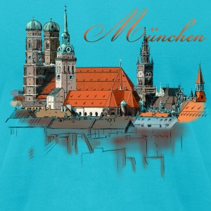 Munich T-Shirts - Men's T-Shirt by American Apparel
