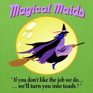 Magical Maids Halloween Tote Bag - Tote Bag