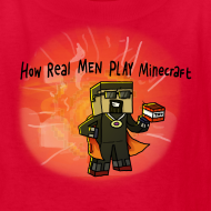 Design ~ Kid's T-Shirt: How REAL Men Use TNT!