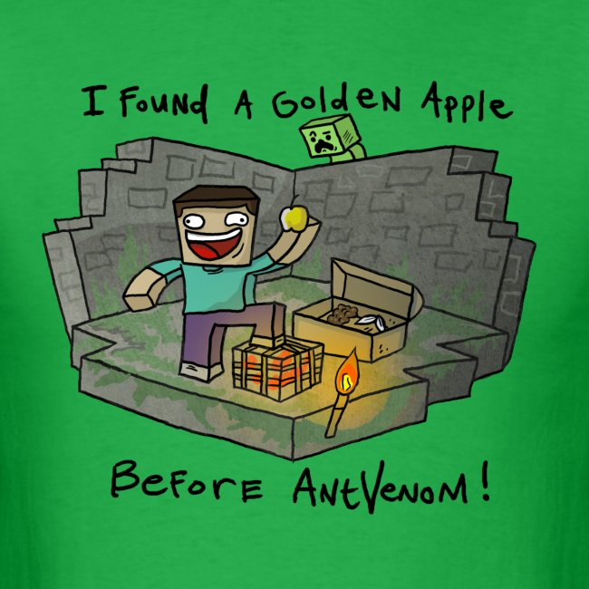 Men's T-Shirt: Steve's Golden Apple