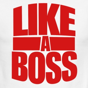 Like a boss bosses day - Men's Ringer T-Shirt