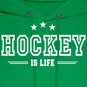 Hockey is life 2 Hoodies - Men's Hoodie