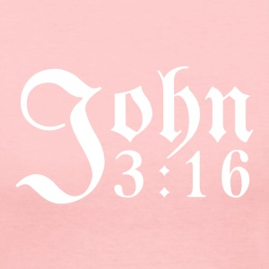 John 3:16 - Women's Long Sleeve Jersey T-Shirt