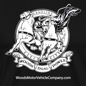 Woods Dual-power Chariot Logo T-Shirts - Men's Premium T-Shirt