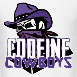 codeine cowboys T-Shirts - Men's T-Shirt