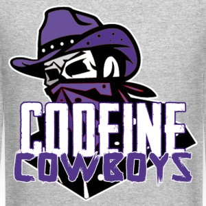 codeine cowboys Long Sleeve Shirts - Crewneck Sweatshirt
