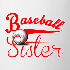Baseball Sister Mugs - Coffee/Tea Mug