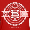 HBCU Strong - Women's Red and Ivory T-shirt - Women's T-Shirt
