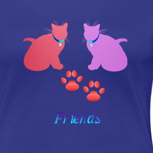 Soft Kitties Friebds - Women's Premium T-Shirt