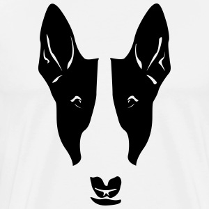 Dog head Shirt - Men's Premium T-Shirt