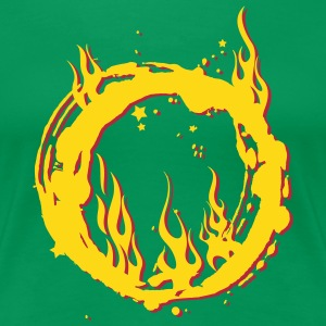 ring of fire Women's T-Shirts - Women's Premium T-Shirt