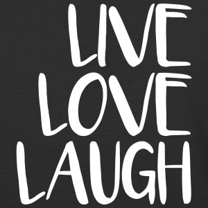 live love laugh T-Shirts - Baseball T-Shirt