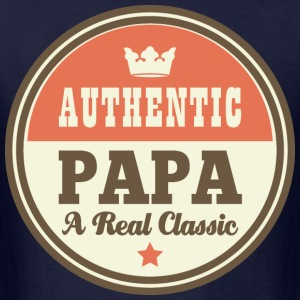 Papa Grandpa Dad vintage T-Shirts - Men's T-Shirt