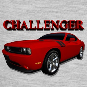 Challenger Red - Baby Contrast One Piece