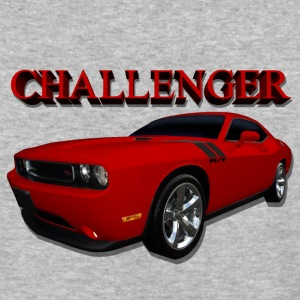 Challenger Red - Baseball T-Shirt