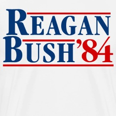 Bush Reagan 84 Election