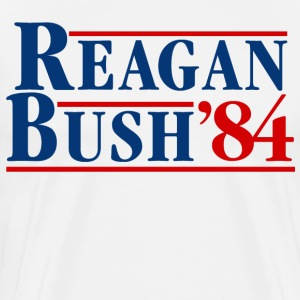 Bush Reagan 84 Election - Men's Premium T-Shirt