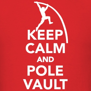 Keep calm and Pole vault T-Shirts - Men's T-Shirt