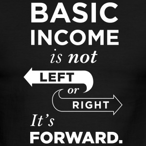 Basic Income Arrows V.2 T-Shirts - Men's Ringer T-Shirt