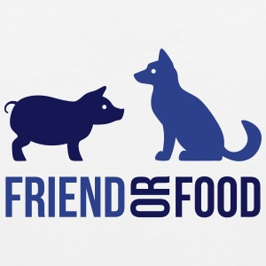 Friend or Food Tank Tops - Men's Premium Tank