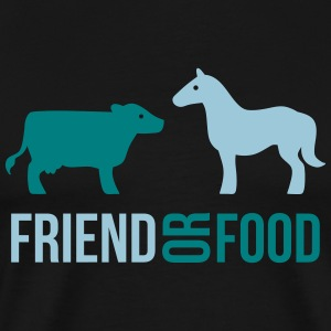 Friend or Food T-Shirts - Men's Premium T-Shirt