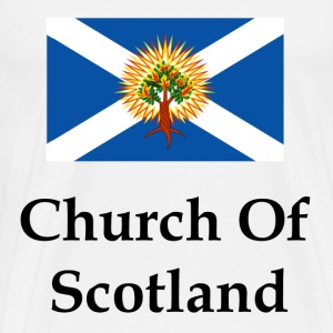Church Of Scotland Flag - Men's Premium T-Shirt
