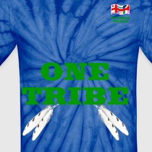 MI'KMAQ PROUD ONE TRIBE - Unisex Tie Dye T-Shirt