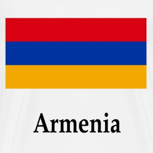 Armenia Flag - Men's Premium T-Shirt