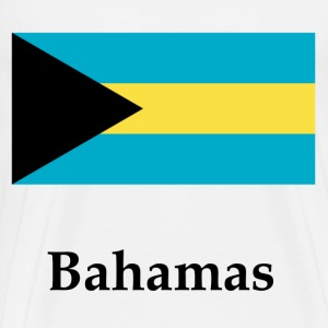 Bahamas Flag - Men's Premium T-Shirt